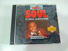 25 Soul Survivors Knock on Wood Aaron Neville Drifters James Brown CD