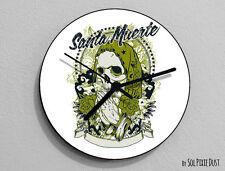 Santa Muerte Sugar Skull - Day of the Dead -Dia de Los Muertos - Calavera - Wall