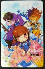 DVA TRACER WIDOWMAKER Overwatch Sticker Card ID Bank PINK ANIME Game Party PC