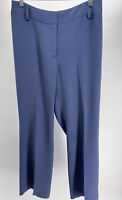 iAlex Alex Garfield Womens Dress Pants Slacks  Periwinkle Blue Size 10