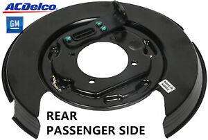 Genuine OEM 2007-17 Chevy Equinox Rear Right Brake Dust Shield, ACDelco 20933372