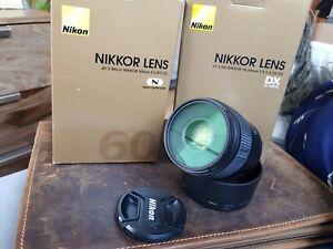 Nikon Objektiv AF-S Micro Nikkor 60mm f/2.8 GD ED