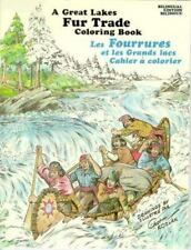 Great Lakes Fur Trade Coloring Book, Kozlak, Chet, Good Book