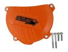 Outlaw Racing OR4137 Clutch Cover Side Case Protector Husqvarna KTM Orange