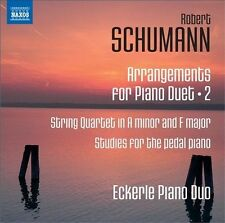Schumann: Arrangements for Piano Duet, Vol. 2 - String Quartet in A minor and F