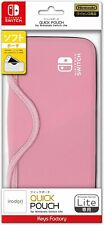 Switch Lite Original Quick Soft Pouch - Pink