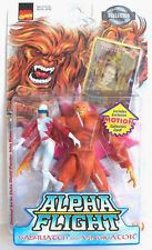 Marvel Alpha Flight SASQUATCH & VINDICATOR Action Figures John Byrne Art
