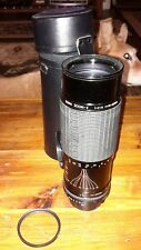 SIGMA Zoom 75-250mm F/4-5 LENS SLR CAMERA with case Filter caps for  Minolta MD