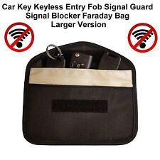 Genuine Car Key Keyless Entry Fob Signal Blocker Faraday Bag - Larger Version