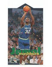1995-96 NBA JAM SESSION DIE-CUT JAMAL MASHBURN #D24 MAVERICKS NM-MINT RARE!!