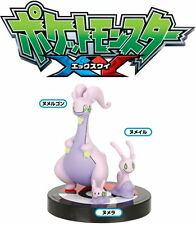 Pokemon Anime Zukan 3D Encyclopedia 1/40 Scale Figure~Goomy Sliggoo Goodra@80221