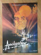 APOCALYPSE NOW  / BOB PEAK / rare UNFOLDED German 1-sheet 1979  Francis Coppola