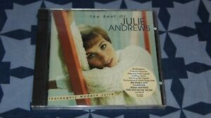 CD NEUF SEALED NEW / JULIE ANDREWS / THE BEST OF / RHINO 1996 / 19 TITRES