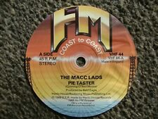 More details for the macc lads, pie tatster. paper record label.