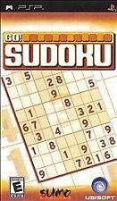 Go Sudoku (Sony PSP, 2006) - UMD DISC ONLY