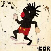 CORBELLIC ART - Historic Cartoon Paint Original  Mouse design 12x12 canvas
