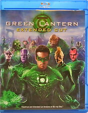 Green Lantern Movie Extended Cut Blu-ray + DVD 2 Discs Ryan Reynolds