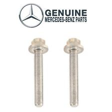 Genuine Pair Set Of 2 Auto Trans Oil Pan Stretch Bolts For Mercedes W166 W203