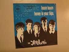 "YARDBIRDS:(w/E. Clapton)Boom Boom-Honey In Your Hips-Holland 7"" 65 CBS Orig. PSL"