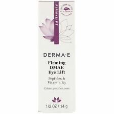 Derma E-Firming DMAE SKIN CARE (Eye Lift )1/2 oz 14 g Cruelty-Free