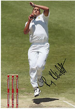 RORY KLEINVELDT - Signed 12x8 Photograph - SPORT - SOUTH AFRICA CRICKET