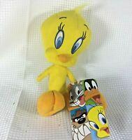 "Toy Factory Looney Tunes TWEETY BIRD 10"" inch Plush Sylvester Stuffed Animal NWT"
