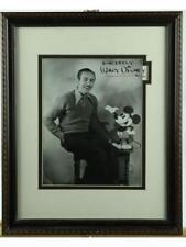 Walt Disney Framed Signed Photo Lot 227