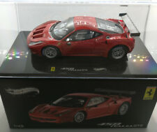 Hot Wheels Ferrari 458 Italia gt2 Rouge Red 1:43 Nouveau neuf dans sa boîte