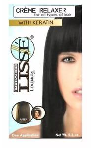 LOQUAY: PRIMER LISSE CREAM HAIR RELAXER W/KERATIN / Crema alaciante con queratin
