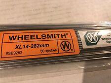 Wheelsmith XL-14-282mm Silver Bicycle Wheel Spokes 50 Spokes