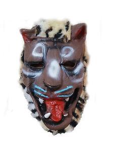 New Latex Scary Adult Animal Mask Fancy Costume Dress Halloween Prank UK Seller