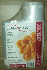 "Seal-N-Savor 8"" x 50' & 11"" x 50' commercial grade vacuum sealer rolls (100ft)"