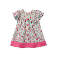Girls Pink Hemmed Floral Dress Size 18 months New