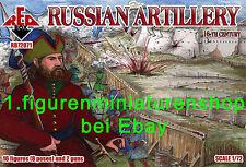 1:72 FIGUREN 72071 RUSSIAN ARTILLERY 16th Century - REDBOX