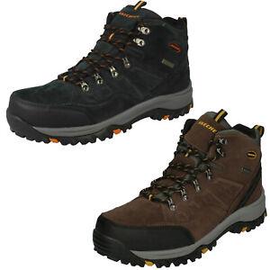 Mens Skechers Relment - Pelmo 64869 Waterproof Lace Up Boots