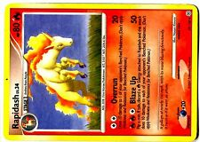 POKEMON DIAMOND & PEARL UNCO N°   59/130 RAPIDASH (GALOPA)