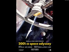 2001 Space Odyssey Station Movie Art Wall Print POSTER DE