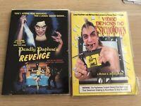 Deadly Daphne's Revenge + Video Demons Do Psychotown Dvd Lot Horror Slasher Oop