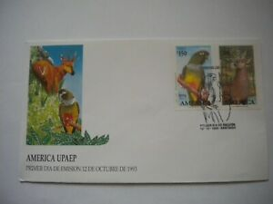 Chile fauna wild animals America UPAEP FDC pictorial