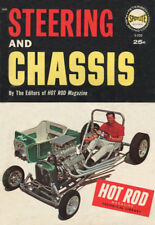 """Hot Rod Magazine Spotlite Books """"STEERING and CHASSIS"""" (1962 Technical Library)"""