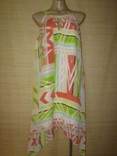 Summer Geometric 100% Silk Dresses for Women