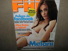 FHM For Him Magazine ESPANA Febrero 2010 No 71 MELANI OLIVARES Pilar Rubio USED