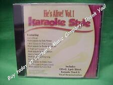 He's Alive~#1~Christian~Daywind~Karaoke Style ~ I Will Glory in the Cross ~ CD+G