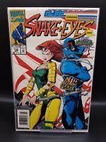 "G.I. Joe A Real American Hero #136 ""Starring Snake-Eyes & Ninja"" Newsstand 1993"