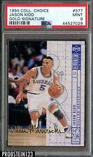 1994 Collector's Choice #377 Gold Signature Jason Kidd RC Rookie PSA 9 POP 1