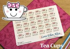 Tea Cup Adesivo Planner, Carino, Tea Time, kawaii