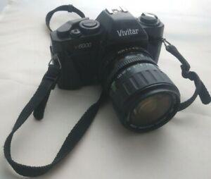 Vivitar V600 35mm Camera with 50mm lens and strap film lomography vintage