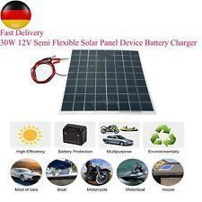 30 Watt 12 V Solar Panel Semi FlexibleGerät Ladegerät W1A1