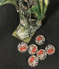 Muse on Minis - 50mm Damage Tracker Dial - Orcs - Free Shipping