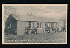 Somerset BURNHAM Brean Down House Gymnasium & pupils c1930 PPC